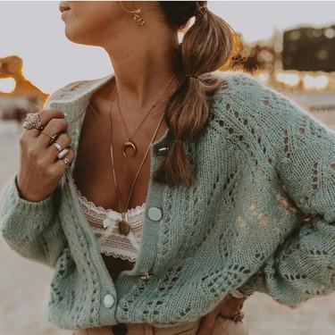 Los cárdigans de crochet son la prenda más femenina de la temporada de primavera y estos nueve modelos son una verdadera monada