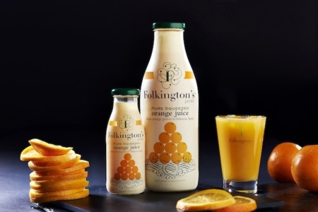 Viaja por todo el mundo con los zumos de Folkington's a través de sus sabores