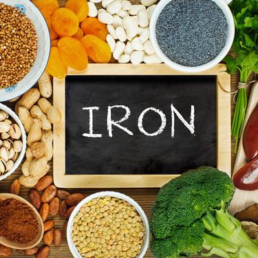 Nueve alimentos (aptos para vegetarianos) con más aporte de hierro que la carne