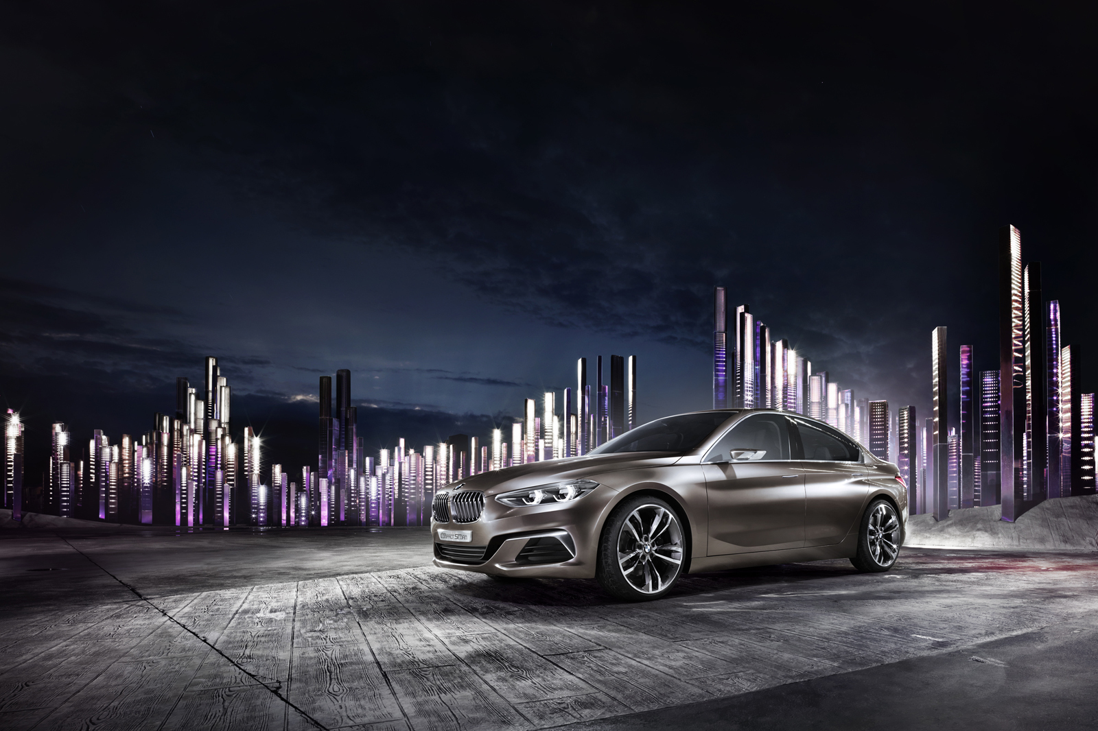 Foto de BMW Concept Compact Sedan (8/26)