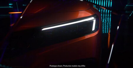 Honda Civic 2022 Teaser 3
