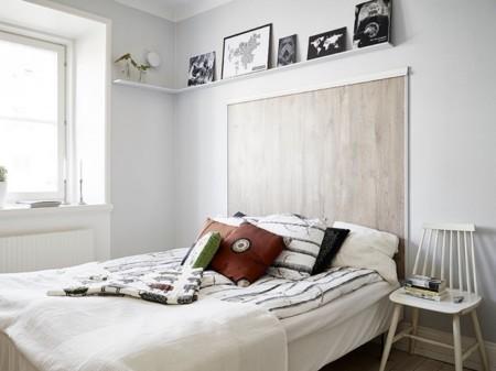 13 originales cabeceros de cama para darle otro aire al dormitorio. Black Bedroom Furniture Sets. Home Design Ideas