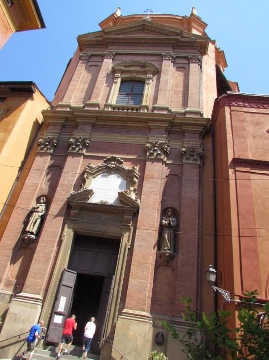 Fachada Sta Maria Vita Bolonia