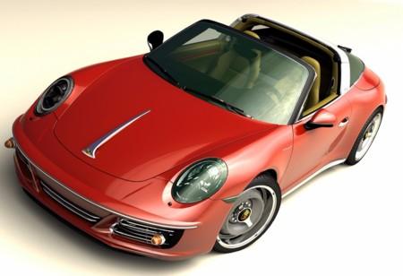 Tu Porsche 911 podrá verse 'vintage' gracias a Zolland Design con este kit visual