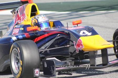 Carlos Sainz Jnr Barcelona GP3