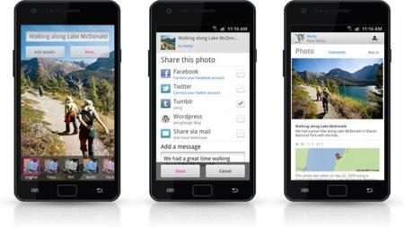 Flickr lanza su app oficial para Android