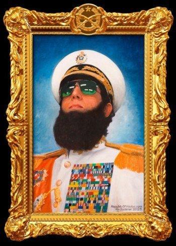 'El dictador', cartel y tráiler de la nueva comedia de Sacha Baron Cohen