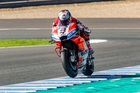 Danilo Petrucci Test Jerez