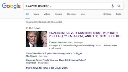 Final Vote Count