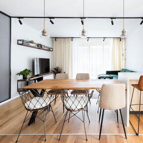 Un piso de 90 m2 en Bucarest que redefine el estilo industrial