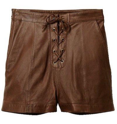hm shorts marrones