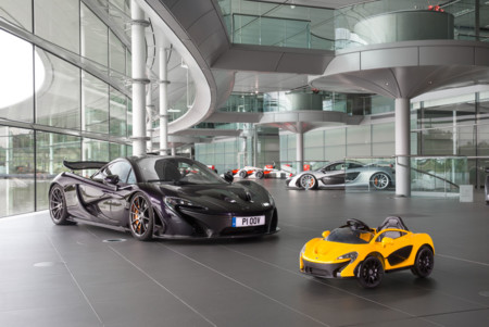 McLaren presenta un P1 totalmente eléctrico... que no puedes conducir si mides más de un metro