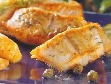 Rodaballo con patatas al horno