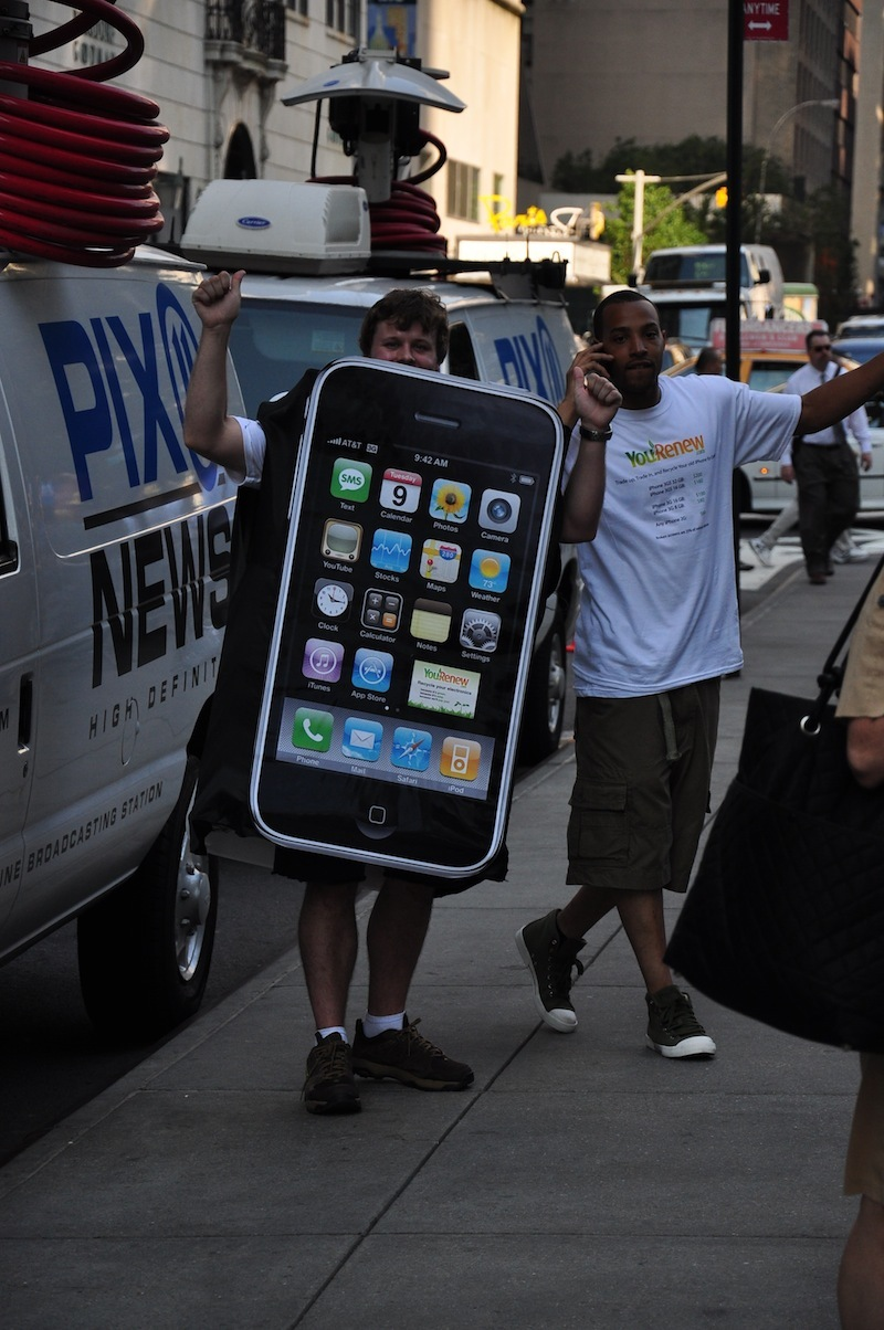 Foto de Lanzamiento iPhone 4 en Nueva York (21/45)