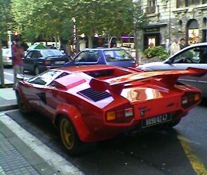 Lamborghini Countach S Bertone Design