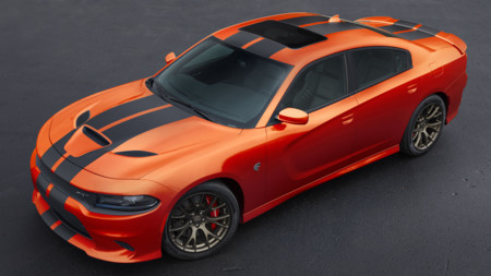 Dodge Charger Challenger Srt Mango Orange 2016 4