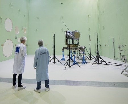 The Cheops Spacecraft In The Large European Acoustic Facility