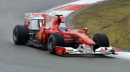 El Ferrari F10 no ha cambiado desde el Gran Premio de China