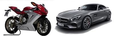 Mercedes está a punto de comprar el 25% de MV Agusta