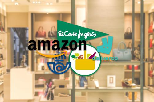 Comprar por Internet en tiempos de Coronavirus: éstos son los planes de reparto de Amazon, Mercadona, El Corte Inglés y otras tiendas