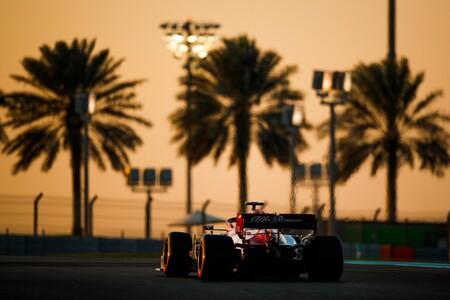 Ilott Abu Dabi F1 2020