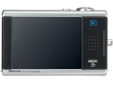 Pentax Optio T20, con pantalla táctil