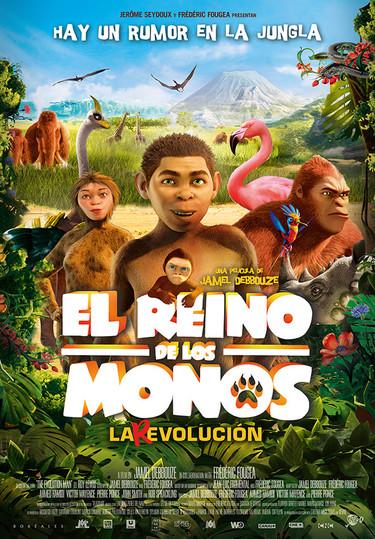 """""""El reino de los monos"""" el enorme éxito en la taquilla francesa llega a nuestros cines para hacer reír a niños y adultos"""