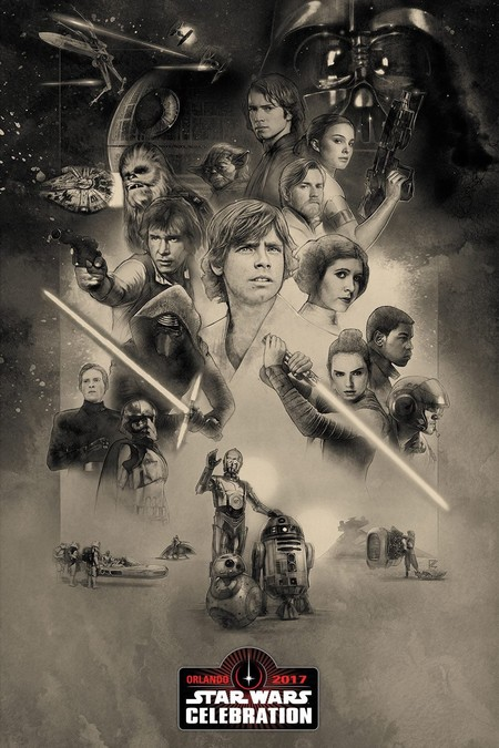 Star Wars 40º aniversario