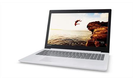 Hoy, el Lenovo Ideapad 320-15AST en color blanco, en Amazon se queda en 299 euros