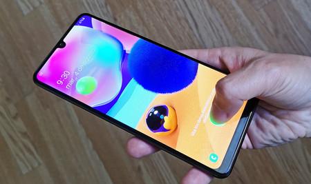 Samsung Galaxy A31 Lector