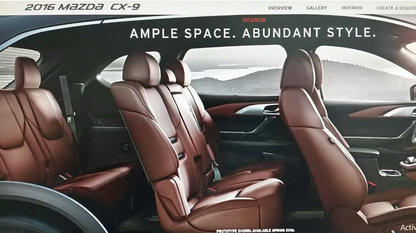 Foto de Mazda CX-9 2016 (filtraciones) (2/4)