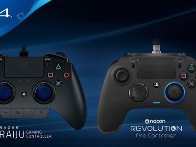 Nacon lanza su Dualshock 4 para jugadores profesionales y con la licencia de Sony