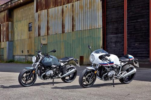 BMW amplía la familia heritage con las BMW R nineT Racer y BMW R nineT Pure