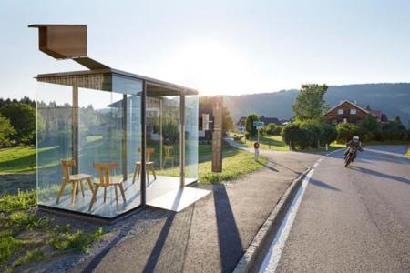 ¿Y si los arquitectos diseñaran paradas de autobús?