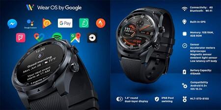 Ticwatch Pro 4g 2
