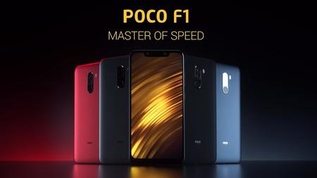 Xiaomi Pocophone F1, en versión global de 128GB, por sólo 275,90 euros en GearBest