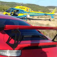 ¡Cazado por Pegasus! Este Porsche 911 GT3 RS circulaba a 242 km/h en España