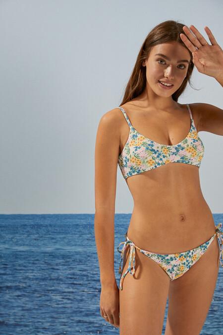 Bikini Flores Textura