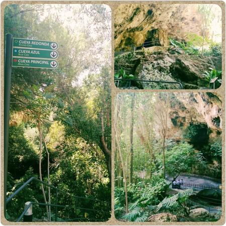 Entrada a las Cuevas dels Hams