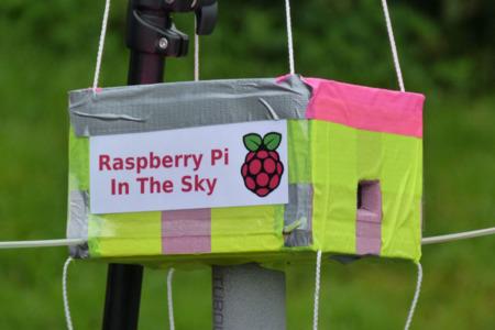 La increíble Raspberry Pi voladora. Imagen de la semana