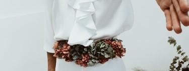 13 propuestas de cinturón de flores que te convertirán en la invitada perfecta, en caso de que no lo fueras ya