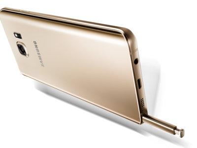 Samsung añade una etiqueta en el Galaxy Note 5 para enseñarnos a insertar el S-Pen