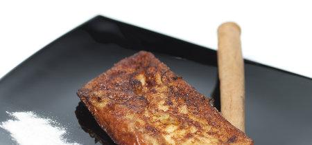 Receta de torrijas sanas, ligeras (y más bajas en calorías)