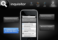 Inquisitor para el iPhone, una nueva forma de navegar