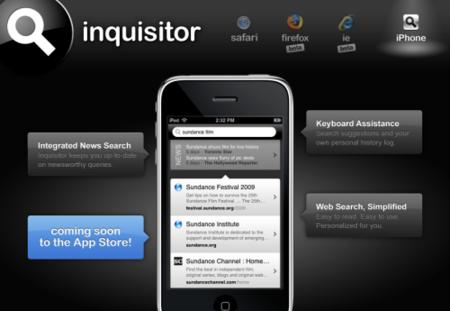 Inquisitor para el iPhone, una nueva forma de navegar