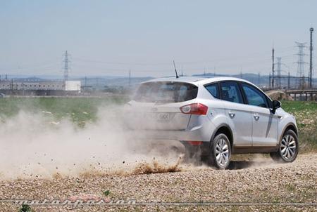Ford Kuga 2.0 TDCi 4WD, prueba (parte 4)