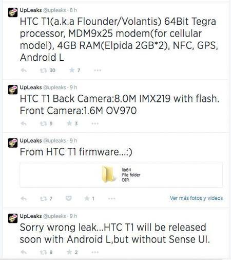 upleaks Nexus 8