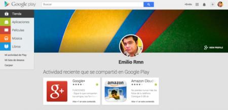 Ya puedes ver tu actividad y la de tus amigos en la web de Google Play