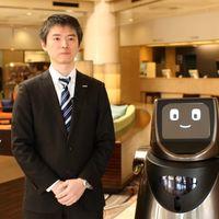 Robots asistentes están por llegar a los hoteles y Panasonic quiere ser el primero con Hospi