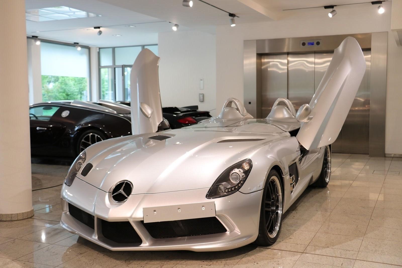 Foto de Mercedes-Benz SLR Stirling Moss (12/13)
